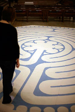 In 2004, the school purchased a canvas labyrinth based on that of Chartres Cathedral.